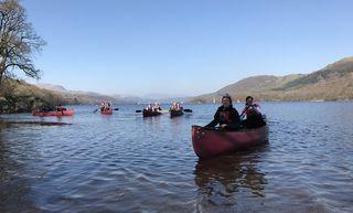 Ra Hen Ulswater Canoe 2