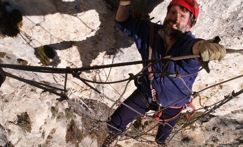 Ra Climbing Foreign France Via Ferata 057
