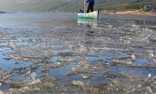 Ra Canoe Skills Poling Loch Sheil
