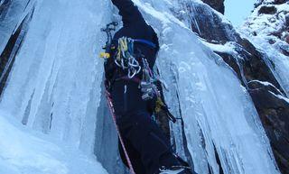 Ra Skills Winter Climbing Craig Meg