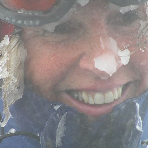 Ra Skills Winter Mountaineering Close Up Face Shot