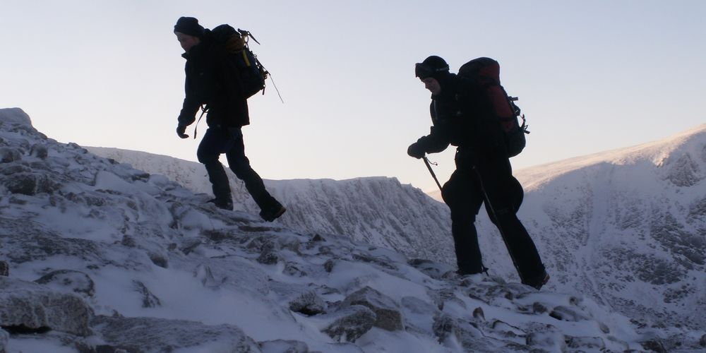 Ra Skills Winter Mountaineering Jim Cairmgorms