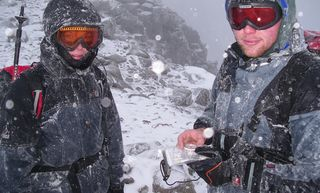 Ra Skills Winter Mountaineering Navigation