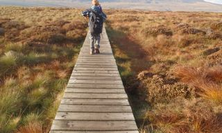 1 Ra Mountain Ingleborough Board Walk