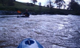 Intro To White Water Kayaking On The Lune
